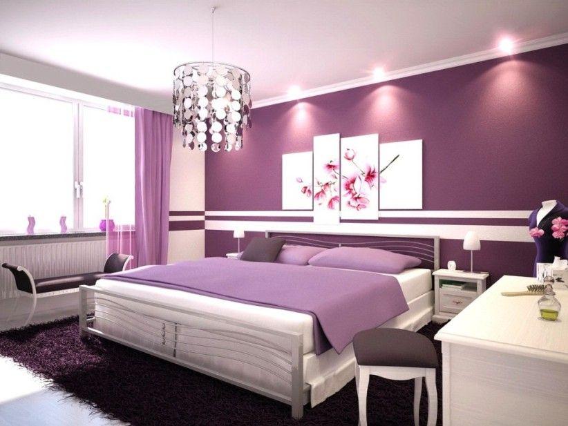 Beautiful Purple Bedroom Design For Minimalist House Ideas Stunning Light Purple Bedrooms Minimalist Decoration