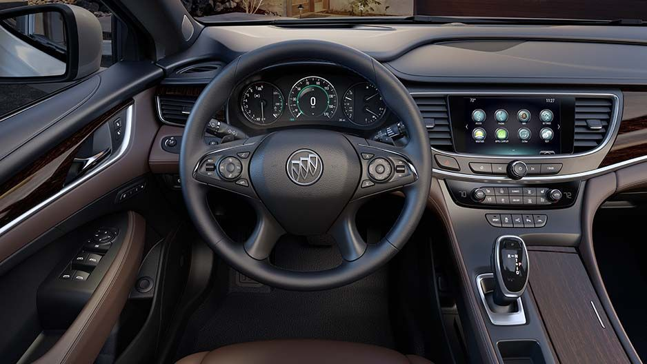 Buick Intellilink In The 2017 Lacrosse Full Size Luxury Sedan Lets You Play Music