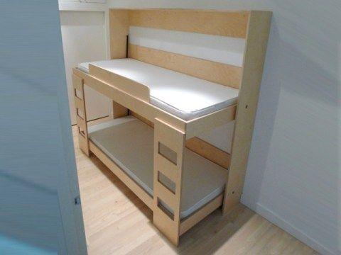 gain de place un lit superpos g nial lit superpos. Black Bedroom Furniture Sets. Home Design Ideas
