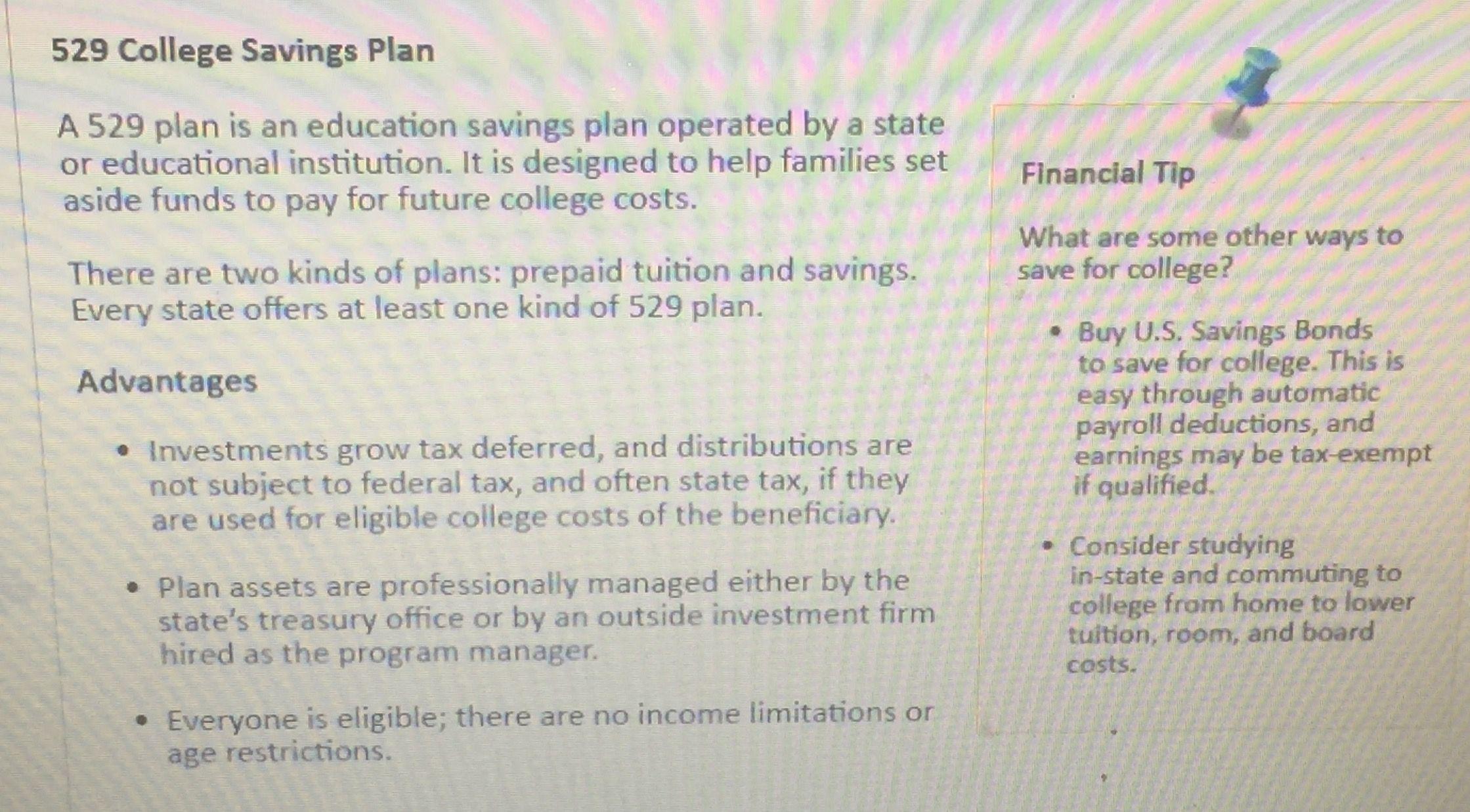 Pin by on credit card education savings plan