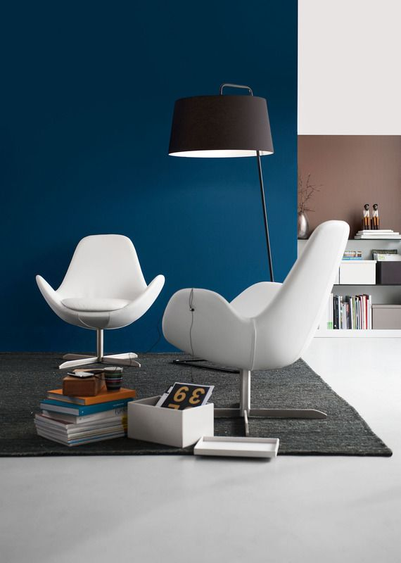 Calligaris Electa Swivel Armchair Swivel Armchair Modern
