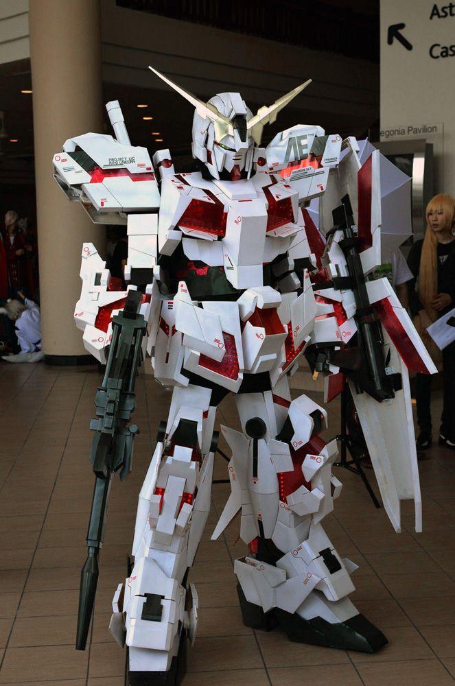 Unicorn gundam cosplay by *miragecld on deviantART ...