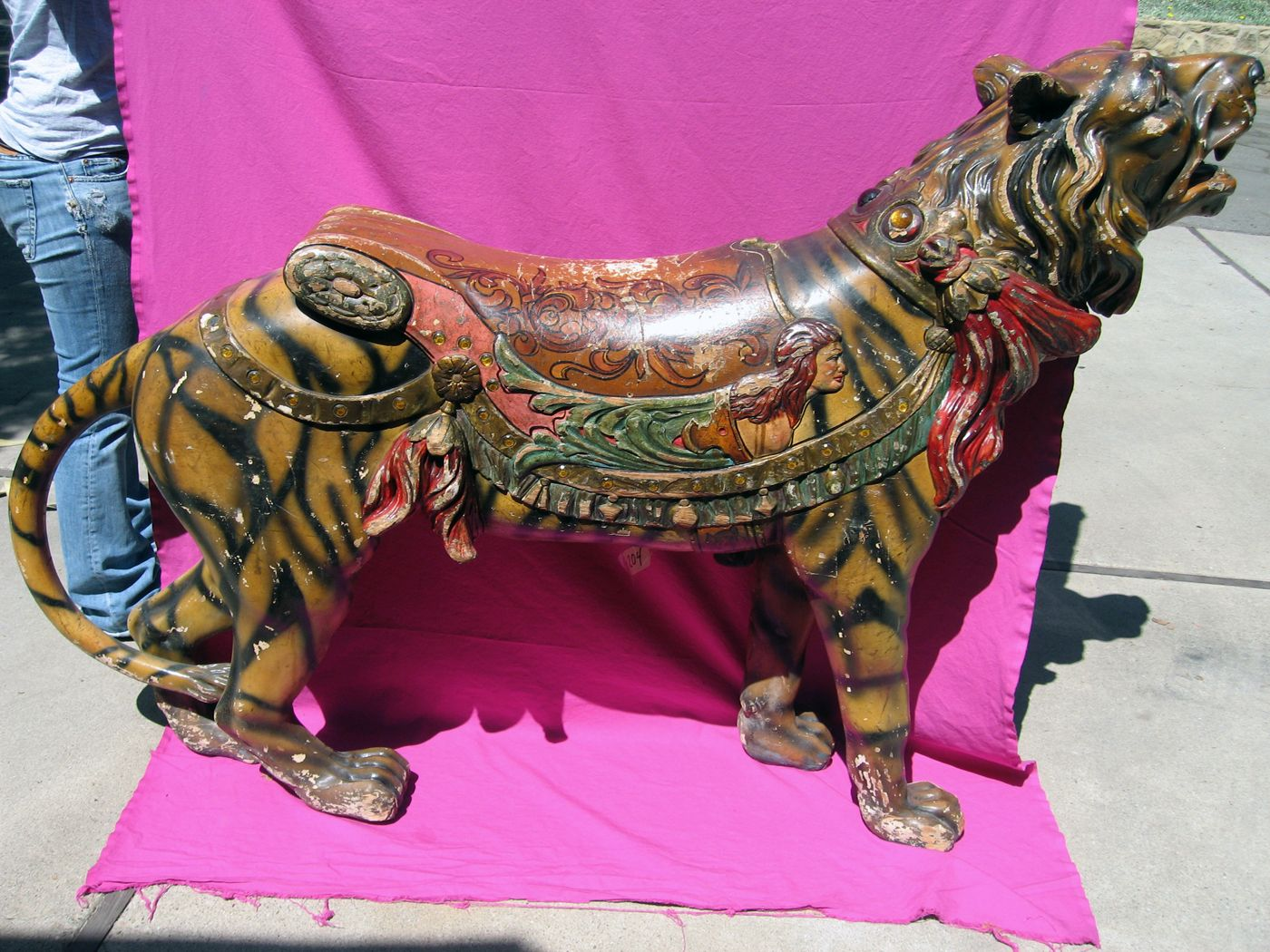 1924 Spillman Tiger from Lincoln Park Carousel in L.A.
