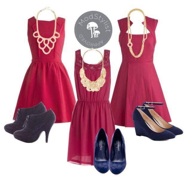 Love red dresses. #Modcloth