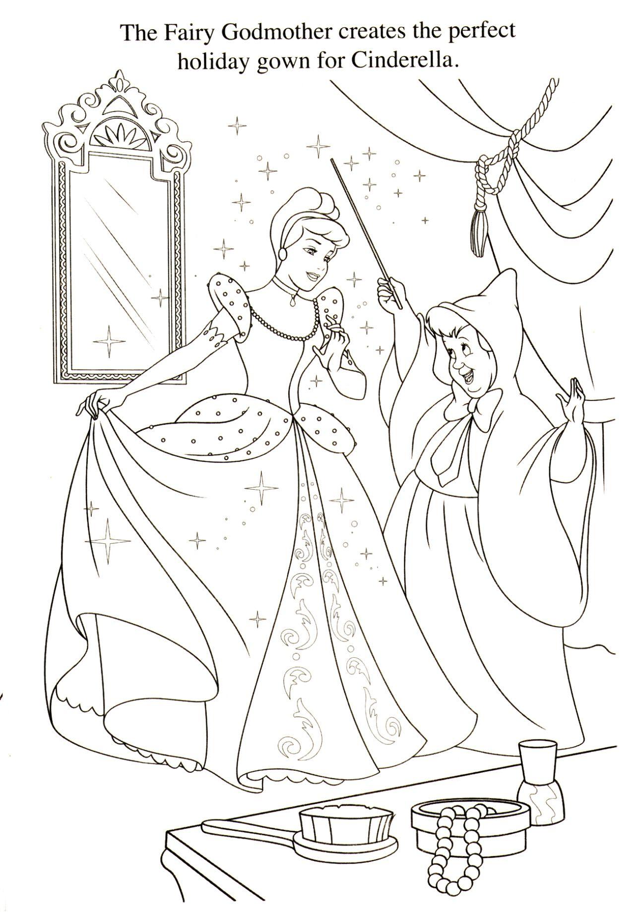 Cinderella Printables Cinderella Coloring Pages Cinderella Coloring Page Cinderella Coloring