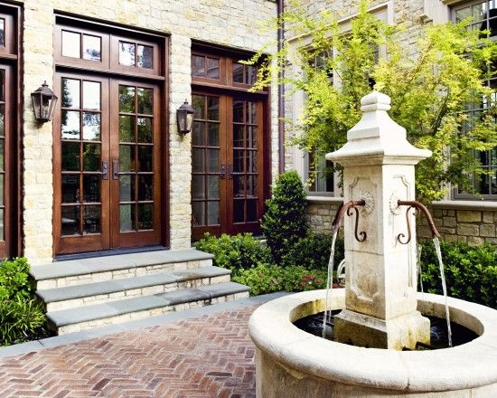 front courtyard design pictures remodel decor and ideas page 37 home pinterest jard n. Black Bedroom Furniture Sets. Home Design Ideas