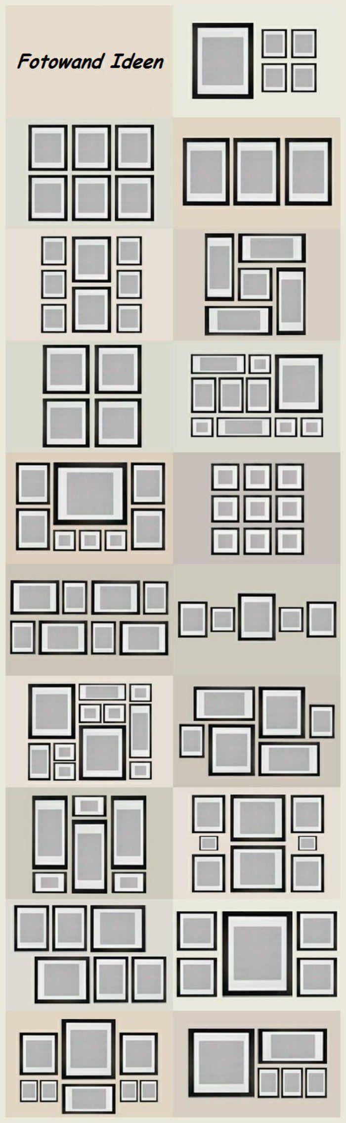Bilder an der Wand anordnen #homedecor #homedesign #homeideas   #eine #Fotowand #für #home decor ideas #Ideen #Kreative #machen #selber #Wandgestaltung