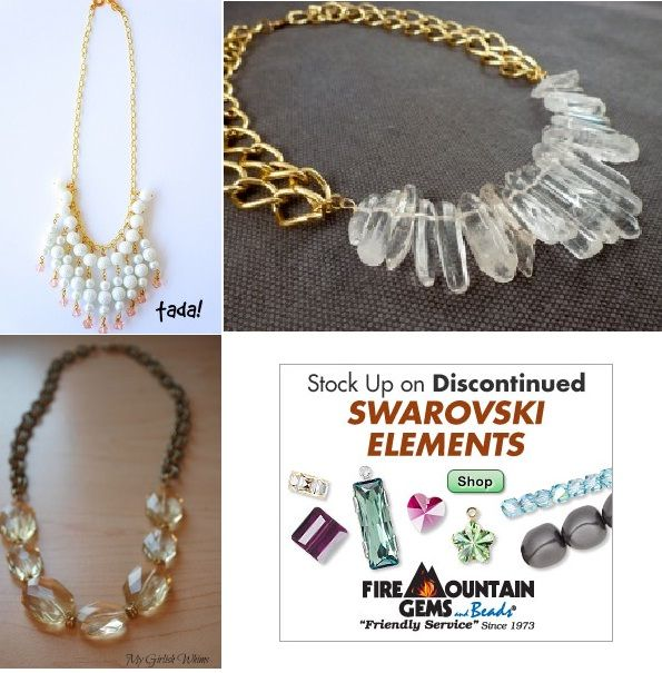 Jewelry Making: Subtle DIY Gold Chained Necklaces