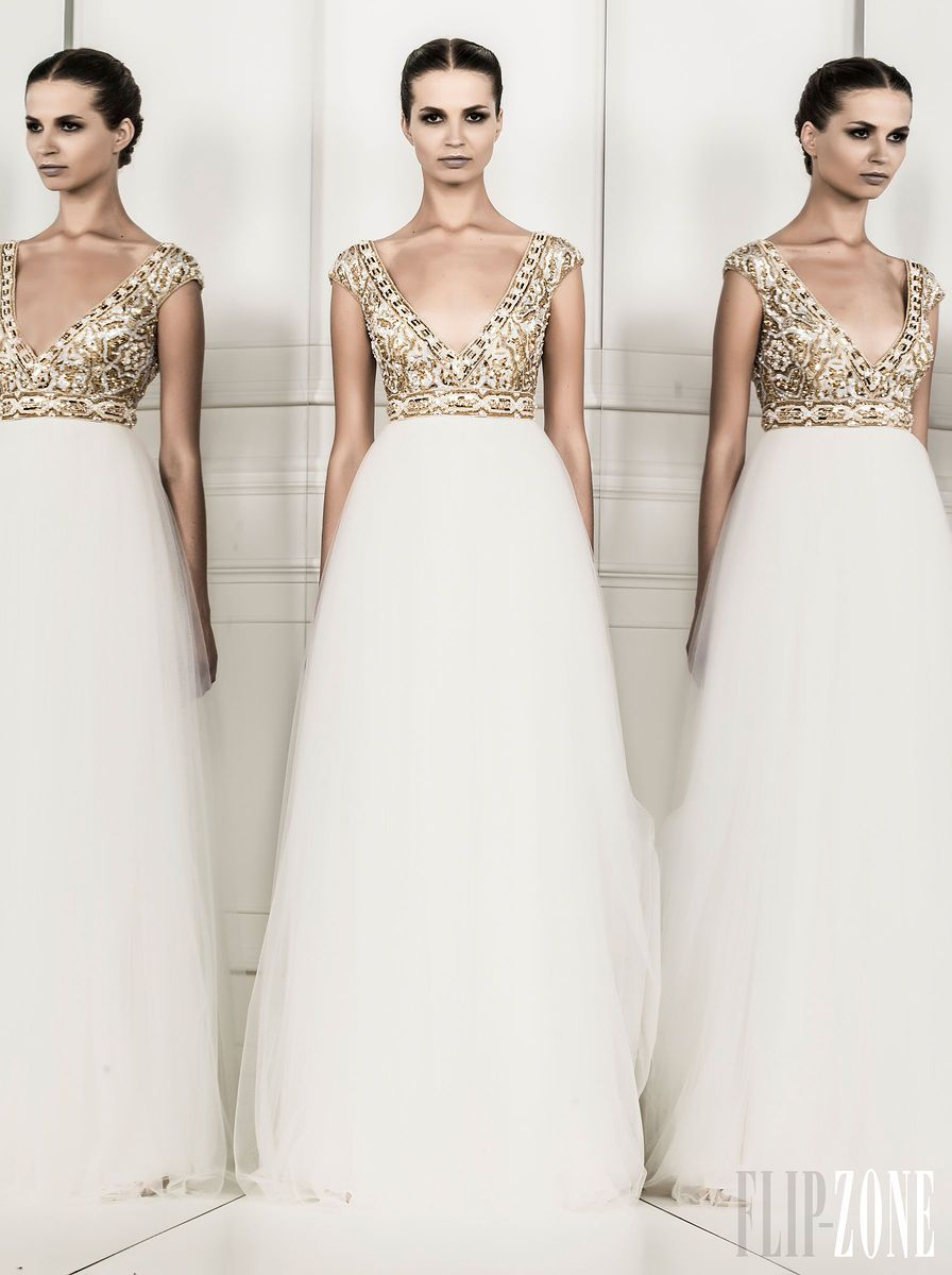 Zuhair Murad - Ready-to-Wear - Spring-summer 2014 - http://www.flip-zone.net/fashion/ready-to-wear/fashion-houses-42/zuhair-murad-4209