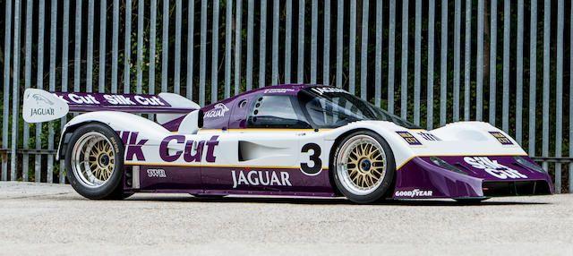 The ex-TWR JaguarSport; Martin Brundle/Alain Ferté/Jan ...