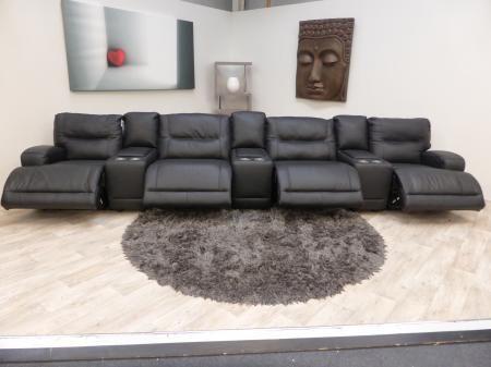 Teatro by Natuzzi Electric Reclining Cinema Sofa | Property ideas ...