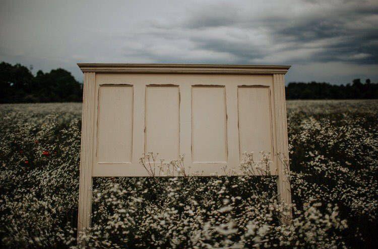 Custom wooden handmade rustic farmhouse antique door