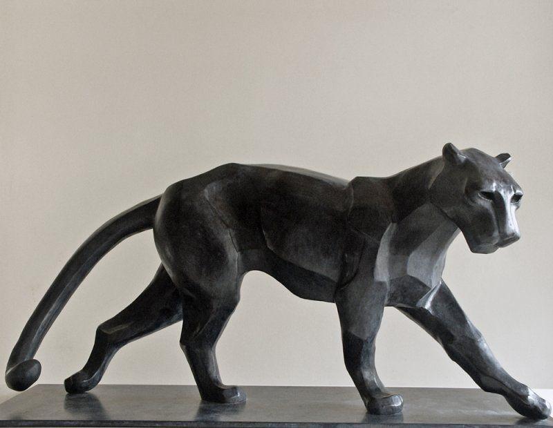 Ceramic African Sculpture