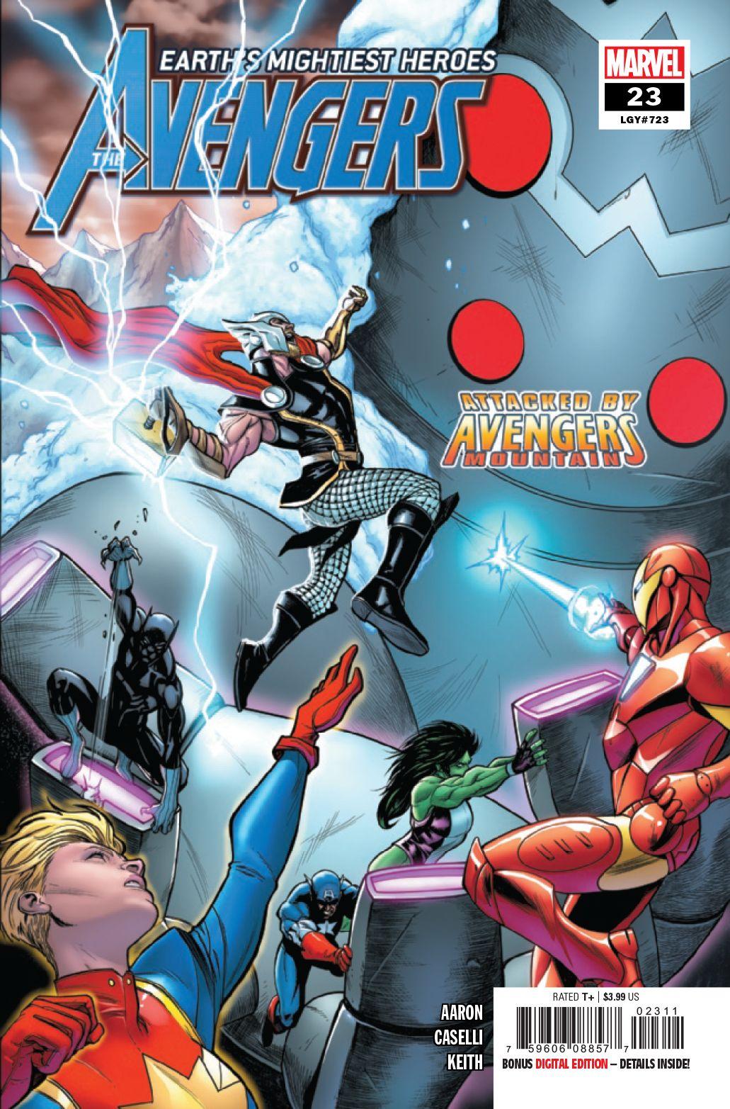 Avengers 23 Marvel 2019 Nm Avengers Marvel Comics