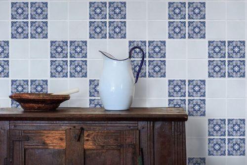 Retro Art Tile Wall Decals Sticker Diy Kitchen Bathroom Decor Vinyl X4 Acc 1239 Wall Tiles Tile Wall Art Diy Shades