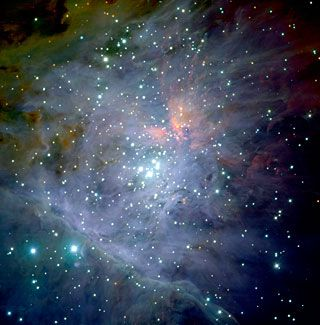 ESO - eso0104a - The Orion Nebula*. Image credit: ESO/M.McCaughrean et al. (AIP)