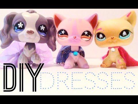 Diy Lps Dresses No Glue Sewing Lps Diy Accessories Lps Crafts Lps Clothes