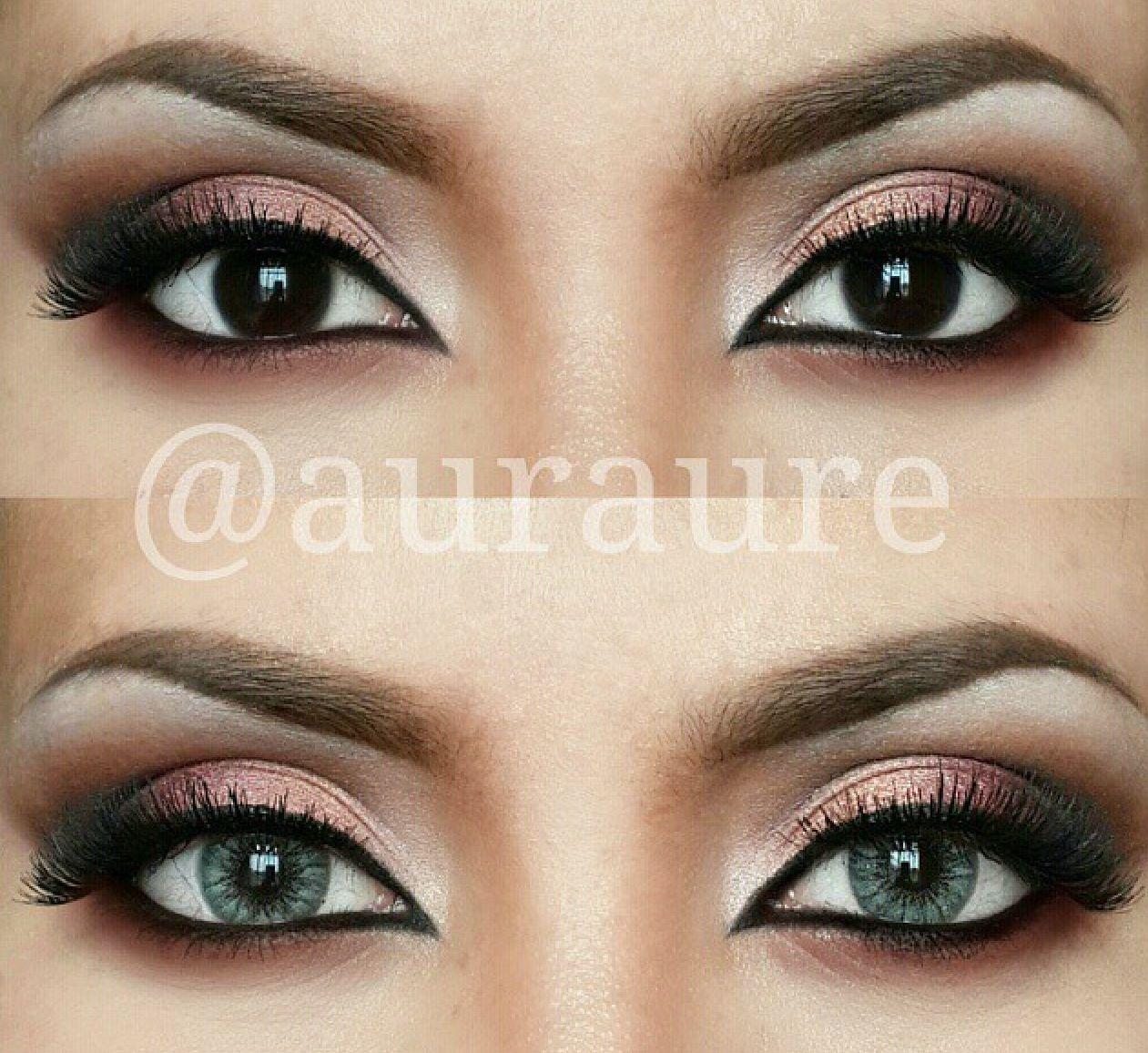 Pin By Lisa Elizabeth On Starry Eyes Subtle Makeup Beautiful Eye Makeup Black Dress Makeup [ 1156 x 1261 Pixel ]