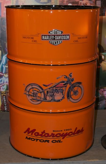 harley davidson motor oil 200 liter barrel custom