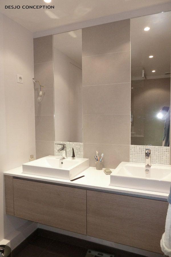 Salle de bain taupe recherche google id e salle de for Carrelage salle de bain taupe