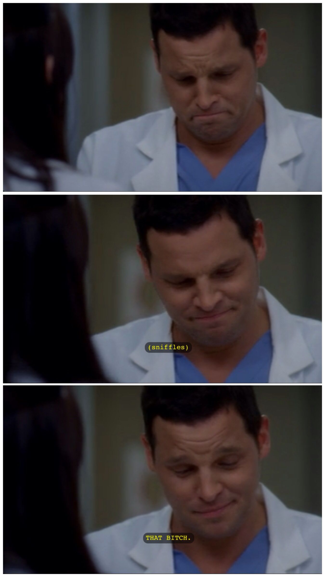 When Karev finds out he got the money for Africa...(Greys Anatomy ...
