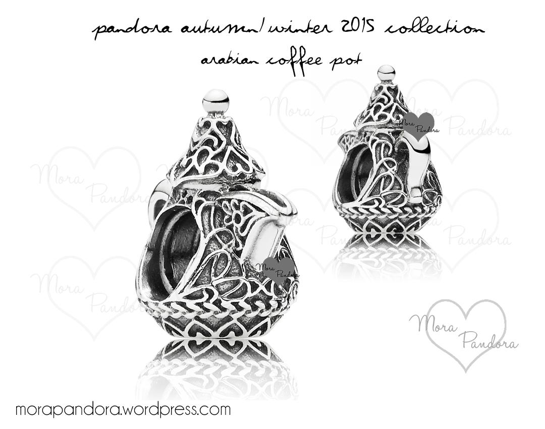 Preview Pandora Autumn 2015 Arabian Coffee Pot Charm