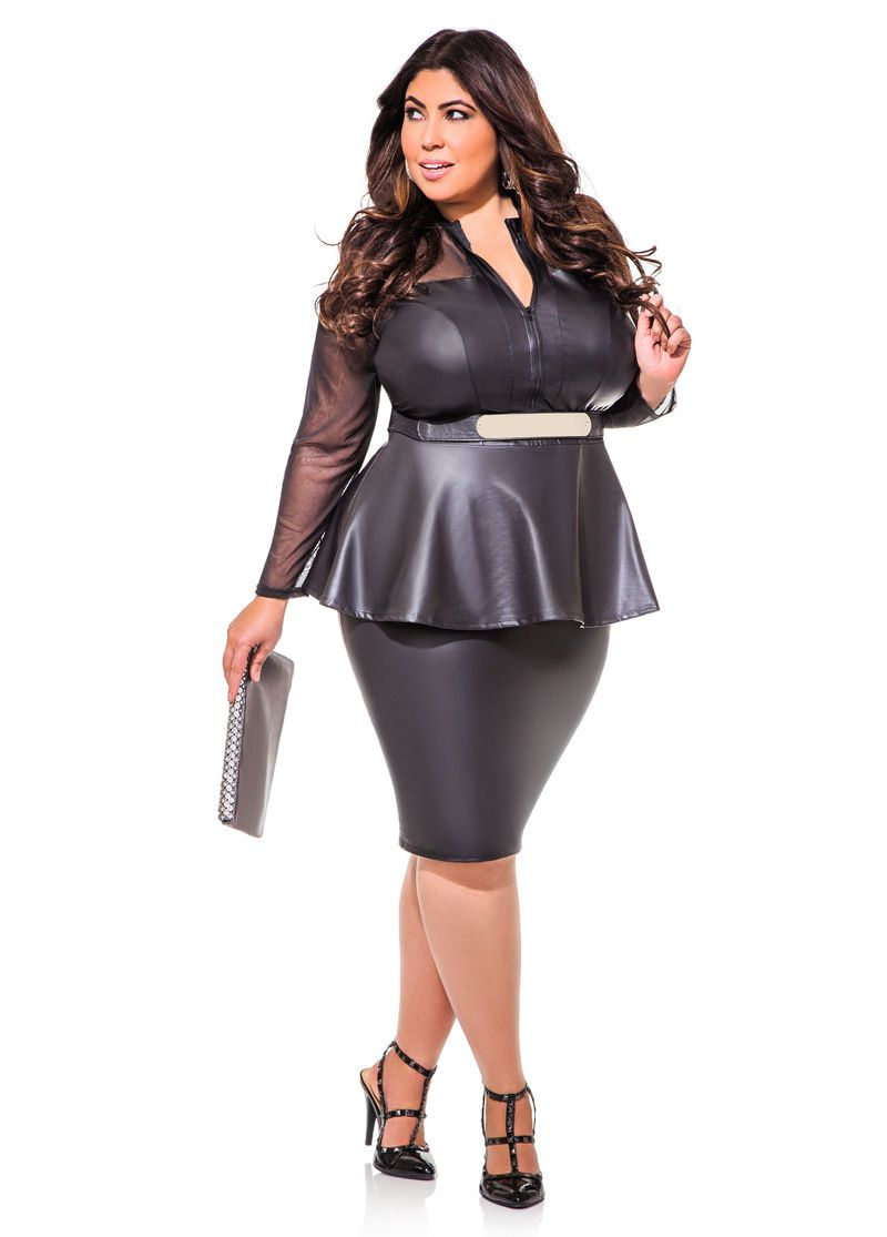 Yes! This is totally me! Peplum that Wows - Ashley Stewart