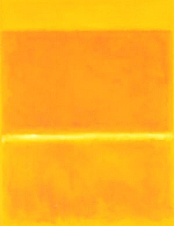 Mark Rothko, Saffron 1957