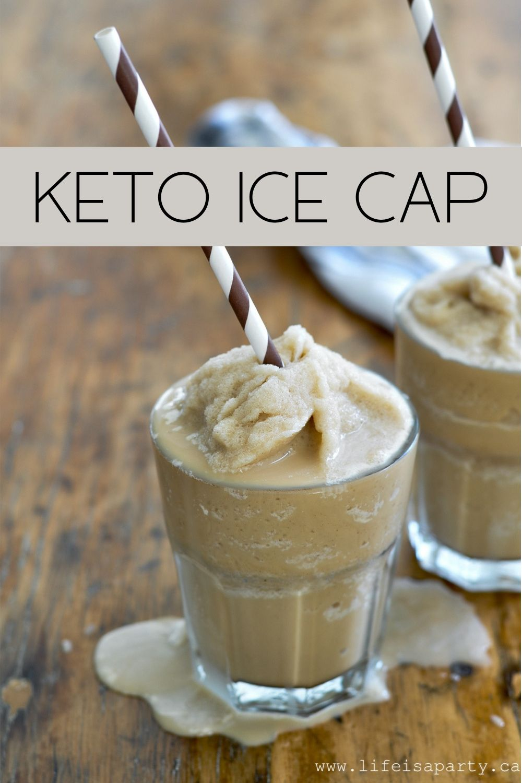 Keto Ice Cappuccino Recipe Coffee treats, Iced