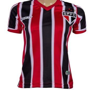Camisa Feminina Penalty São Paulo II 2014 Sem Número e Sem Patrocínio http://compre.vc/v2/9d9a71dd