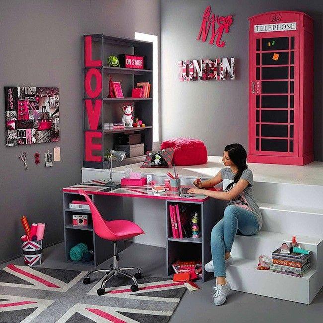 Habitaci n habitaciones pinterest dormitorio ideas - Escritorio para habitacion ...