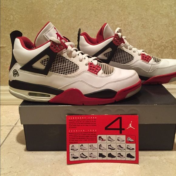 official photos 5b793 39b90 MENS Jordan retro 4 spike lee edition size 11 GENTLY worn ...