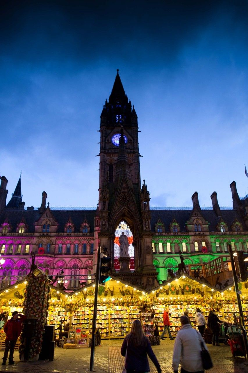 Christmas Market in Manchester Europe's Best