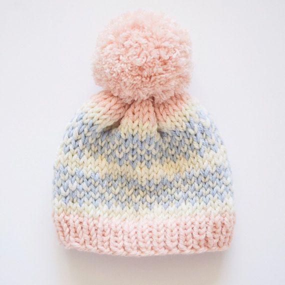 Baby Pattern / Baby Hat Pattern / Knitting Pattern / Fair Isle ...