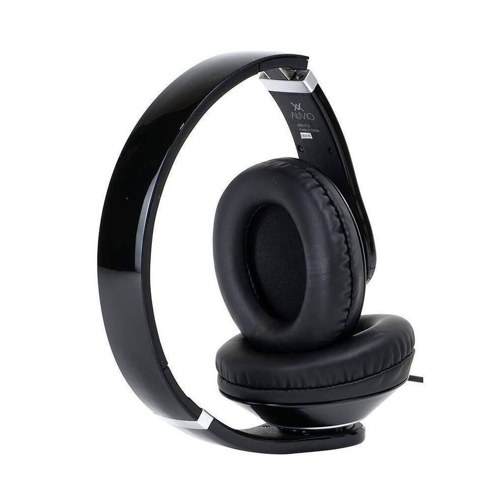 7556e3e2d09 Auvio Over-the-Ear Headphones Black no with mic! #Auvio | Auvio Over ...