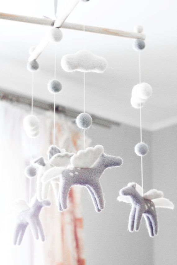 9fd6221676824 Flying Horse Baby Mobile