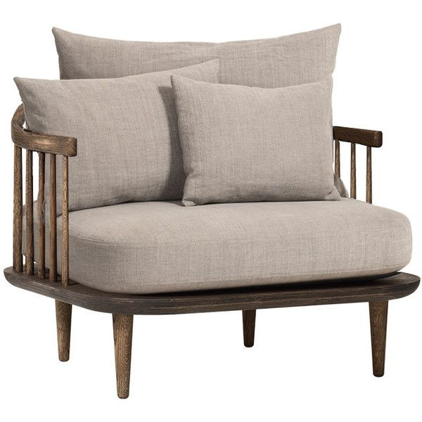 Tradition FLY Chair SC1 - Chivasso Hot Madison 1249/04 Smoked Oak