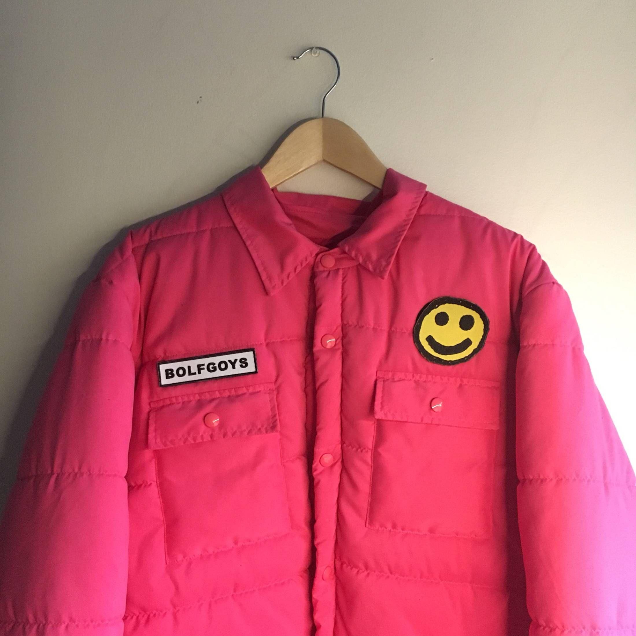 3fdaa0529fae Golf Wang Pink Bolf Goys Puffer Jacket Size US XL   EU 56   4 ...