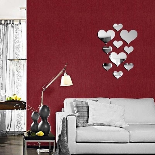 Wish Comprar Es Divertido In 2020 Wall Stickers Living Room Wall Decor Stickers Heart Wall Stickers #stickers #for #living #room