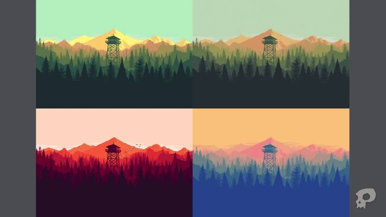 The Art Of Firewatch