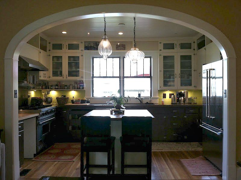 A warm and open kitchen.   For the kitchen   Pinterest