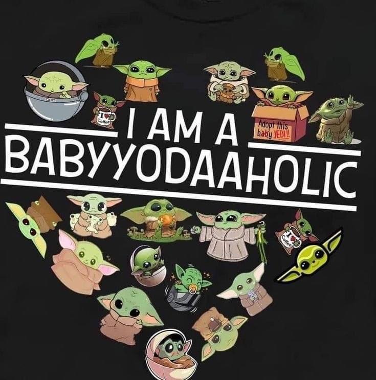 Baby Yoda Yodaaholic In 2020 Yoda Wallpaper Yoda Meme Yoda Funny