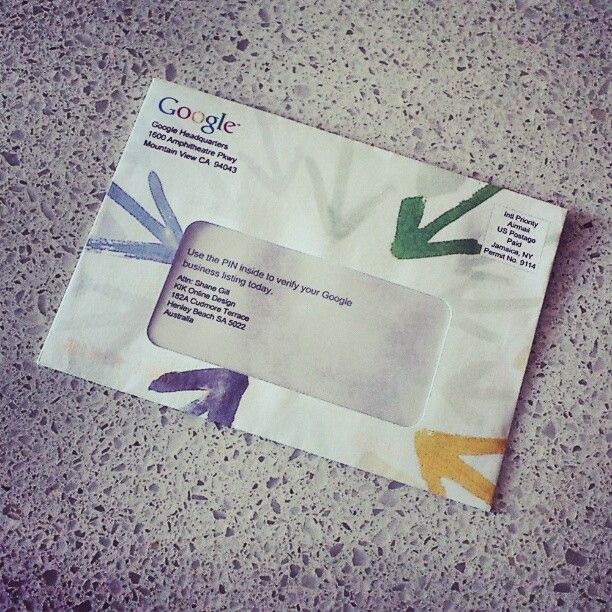 Our buddy Shane Gill just received mail all the way from Google headquarters in California... Exciting !