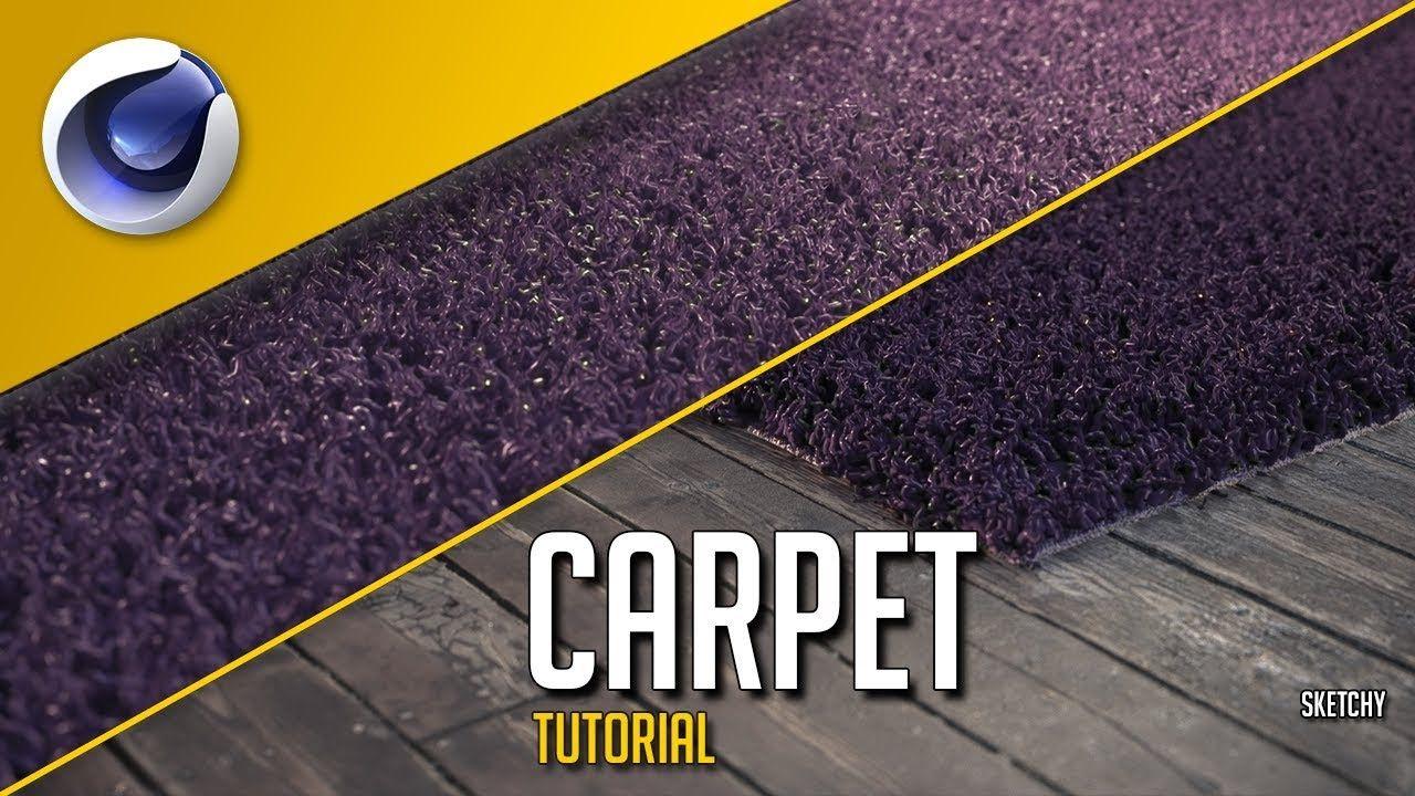 Cinema 4d Tutorial Photorealistic Fur Carpet Rug Cinema 4d Tutorial Cinema 4d Rugs On Carpet