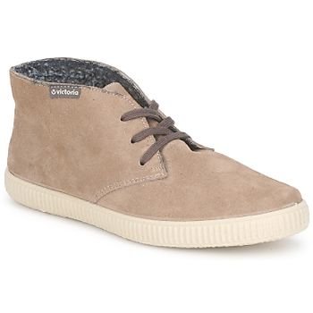 Marques Chaussure femme Victoria femme Safari Tweed Antelina Taupe