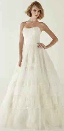 Laid back Southern Bell Wedding Dress