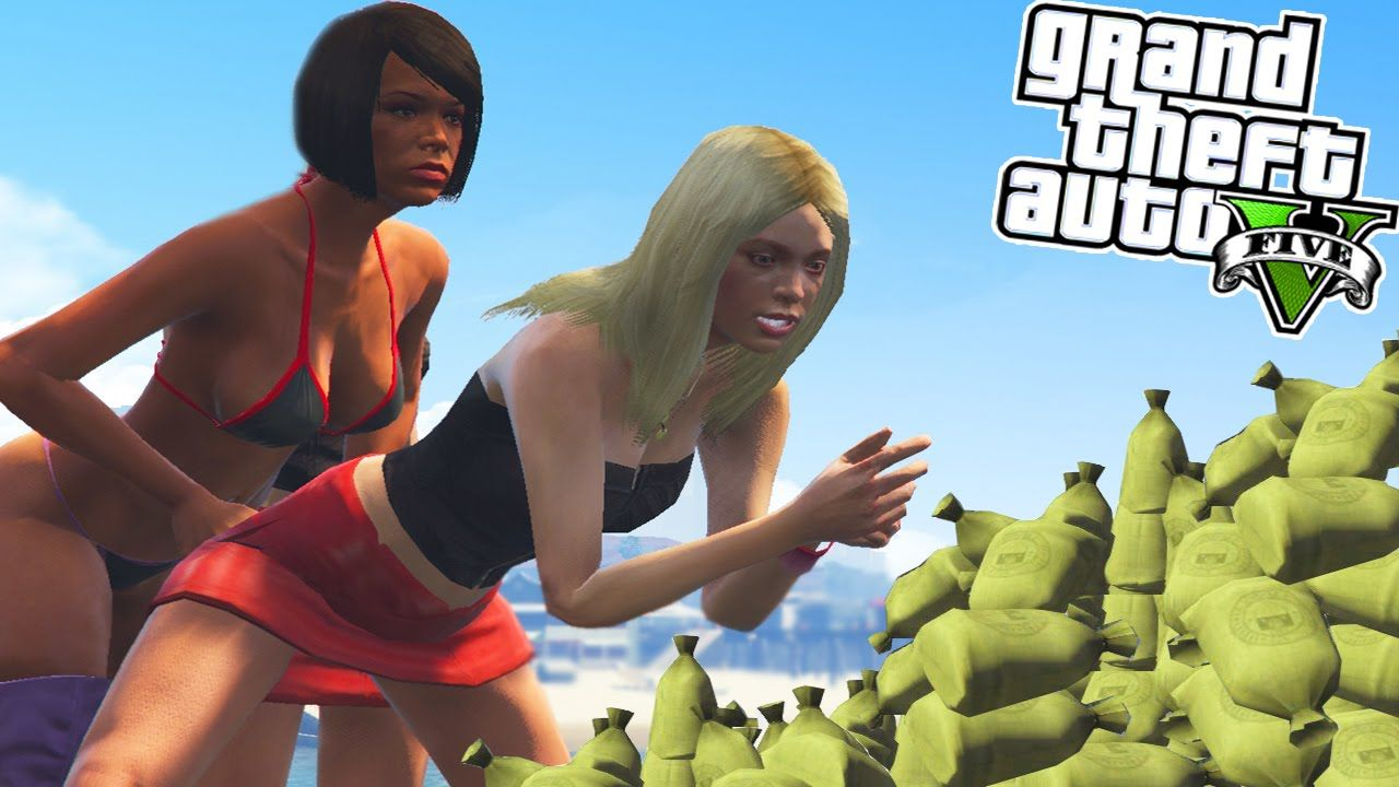 Gta 5 Ultimate Modded Lobby Girls, Money  More Gta 5 -9516