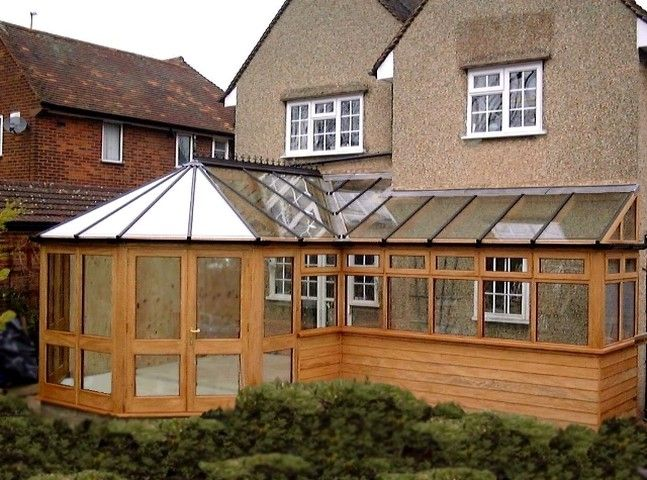 weatherboarded conservatory - Google Search | Décoration ...
