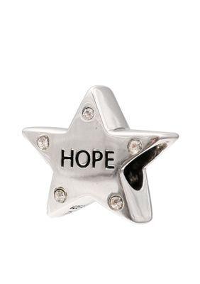 "Belk Silverworks  Crystal ""Hope"" Star Originality Bead - White - One Size"