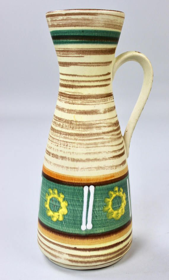 Aus Was Besteht Keramik vintage vasen keramik vase bay jasba westgerman pottery 50er 60er